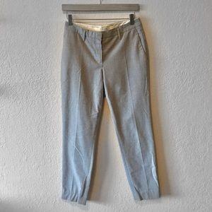 Aritzia Babaton Cropped Soft Grey Dress Pants Sz 2